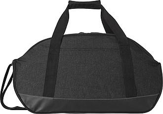 Sportovní taška s černým dnem, černá