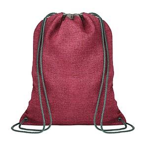 Stahovací batoh, červený