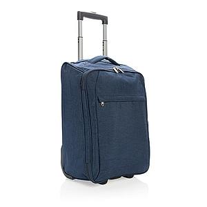 Skládací cestovní kufr na kolečkách, námořní modrá
