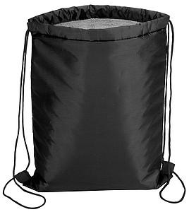 PIKORET Chladící stahovací batůžek na záda, černá