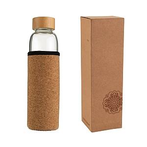 VS INDAUR skleněná lahev s korkovým rukávem