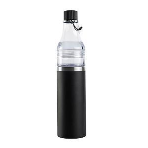 SCHWARZWOLF DOMINIKA termoláhev - set 400+ 200 ml, černá
