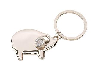 COCHON Přívěšek na klíče ve tvaru prasátka - reklamní hrnky