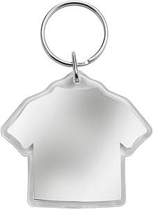 SINGLET Přívěšek na klíče,tvar triko,místo pro vložení lístku