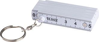 SAGETA Přívěšek na klíče se skládacím metrem délky celkem 50cm