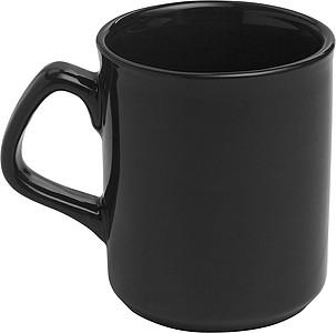 KILIAN Porcelánový hrnek, 250 ml, černý - reklamní hrnky