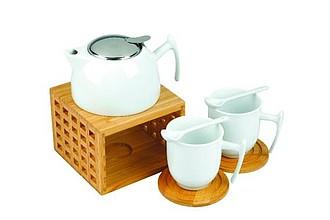 VS MANIPUR Porcelánová souprava na čaj - reklamní hrnky