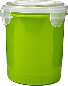 Plastový hrnek s víčkem, zelený