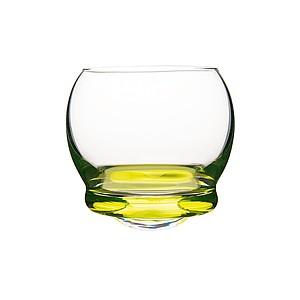 VS DILAM Sada 6 skleniček 60ml s kulatým barevným dnem