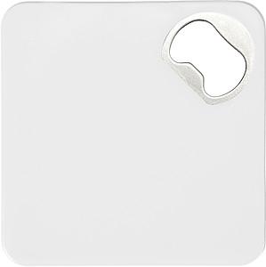 Plastový podtácek s otvírákem