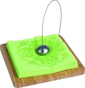 VS DAMAN luxusní držák na ubrousky, bambus+kov
