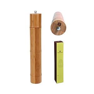 VS WRAI velký mlýnek na pepř, bambus reklamní zapalovač