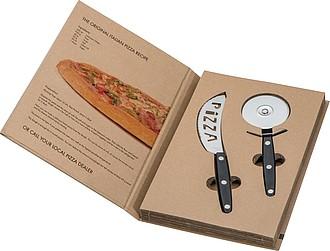 MAYATA Dvoudílná sada na pizzu