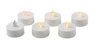 Svítilna, čajová svíčka s LED světlem