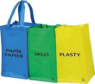 SEPARE Set 3 tašek na tříděný odpad