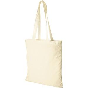 TOMAN Bavlněná nákupní taška, béžová