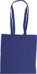 MICHALA Nákupní taška, dlouhé rukojeti, tm.modrá