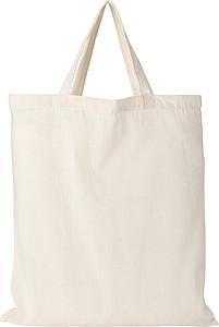 Nákupní taška, krátké rukojeti, béžová