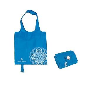VS BATNA skládací nákupní taška, polyester, modrá