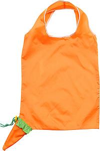 LEGUMI Skládací nákupní taška, složitelná do mrkvičky papírová taška s potiskem