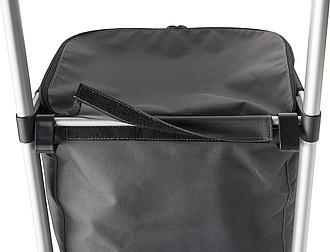 Nákupní vozíček ze tkaného materiálu typu Oxford papírová taška s potiskem