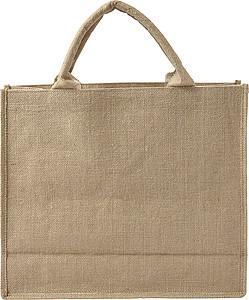 Jutová nákupní taška papírová taška s potiskem