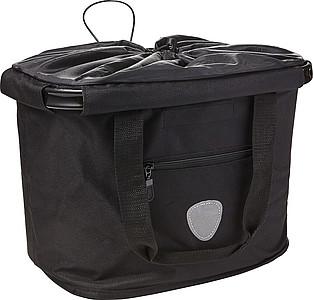 Nákupní košík s možností připevnění na kolo papírová taška s potiskem
