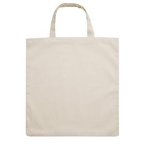 Nákupní taška z bavlny s krátkými uchy