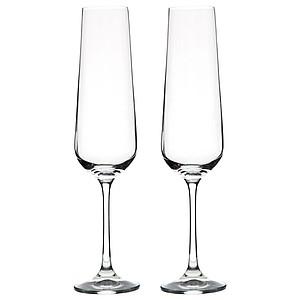 VS PAPUA Sada na šampaňské, krabice s prostorem pro láhev + 2 sklenice