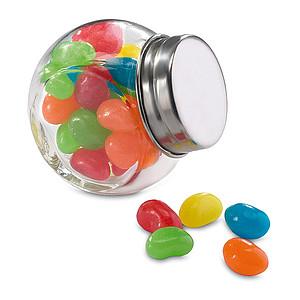 Dóza s různobarevnými bonbony, 30g