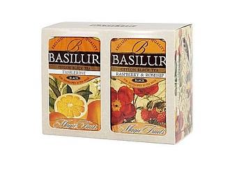 BASILUR BASILUR Dárková sada Magic světlá (černý čaj Raspberry & Rosehip, černý čaj Tangerine )