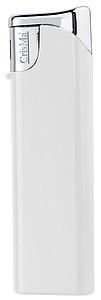 Elektronický barevný zapalovač, plnící, bílá reklamní zapalovač