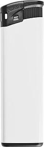 Elektronický zapalovač, bílý reklamní zapalovač