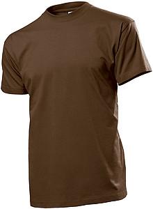 Tričko STEDMAN COMFORT MEN hnědá XL