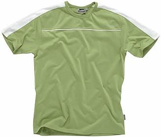 Tričko SLAZENGER RICHMOND STRIPE T-SHIRT zelená, bílá S