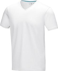 Tričko ELEVATE KAWARTHA V-NECK bílá L