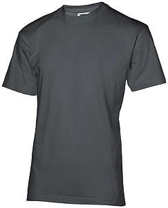Tričko SLAZENGER RETURN ACE T-SHIRT 200 tmavě šedá XL