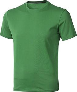 Tričko ELEVATE NANAIMO T-SHIRT středně zelená XXL - reklamní čepice
