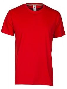 Tričko PAYPER SUNRISE červená XXXL - reklamní trička