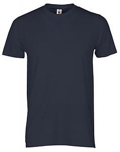 Tričko PAYPER PRINT barva námořní modrá L - reklamní trička