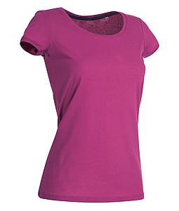 Tričko STEDMAN STARS MEGAN CREW NECK tmavě růžová S - reklamní bundy