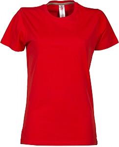 Dámské tričko PAYPER SUNRISE LADY červená L - reklamní trička