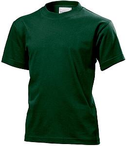 Tričko STEDMAN CLASSIC JUNIOR tmavě zelená XL - reklamní vesty