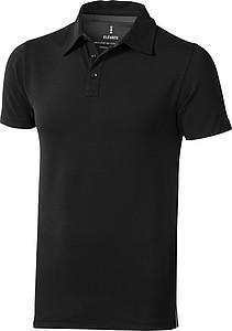 Polokošile ELEVATE MARKHAM POLO černá L - reklamní trička