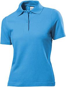 Polokošile STEDMAN POLO WOMEN světle modrá S - reklamní trička