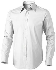 Košile ELEVATE HAMILTON SHIRT LONG SLEEVE bílá M