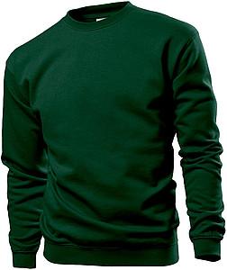 Mikina STEDMAN SWEATSHIRT tmavě zelená S