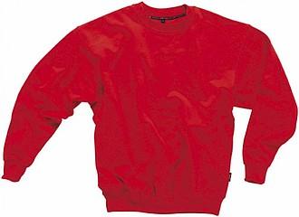 Mikina SLAZENGER COLLEGE SWEATER červená XL