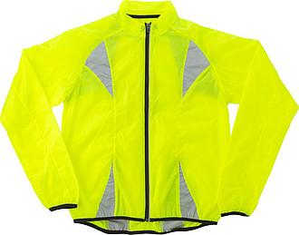 Nylonová fluorescenční běžecká bunda, XL vel. - reklamní bundy