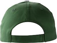 PROGRESA Pětipanelová bavlněná čepice, zelená